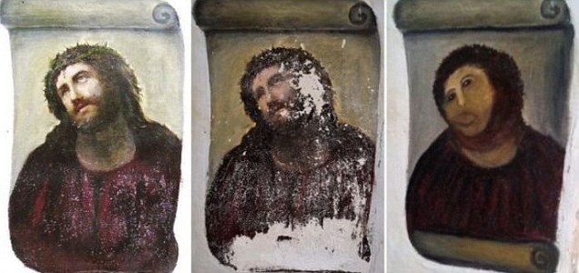 "Elias Garcia Martinez, ""Ecce Homo"". XIX w. Foto: AFP/Getty."