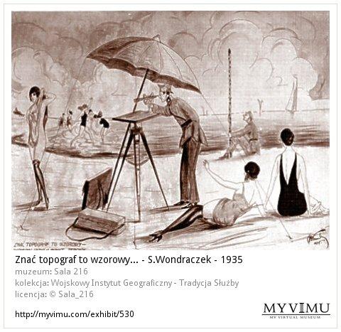 Znać topograf to wzorowy... - S.Wondraczek - 1935